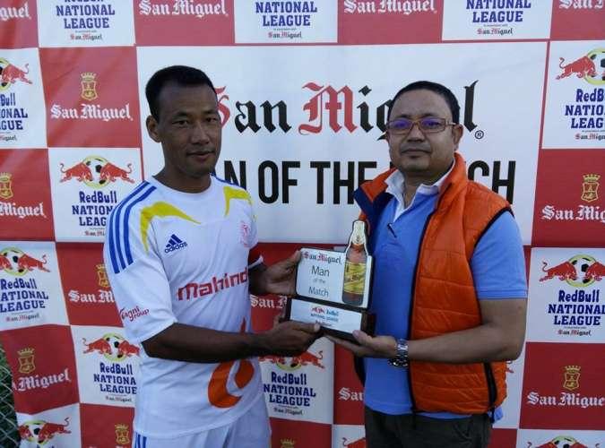 लुम्बिनीलाई ५-०ले हराउँदै आर्मी  शीर्ष स्थानमा