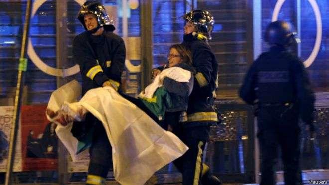 पेरिस आक्रमण आईएसले जिम्मा लियो