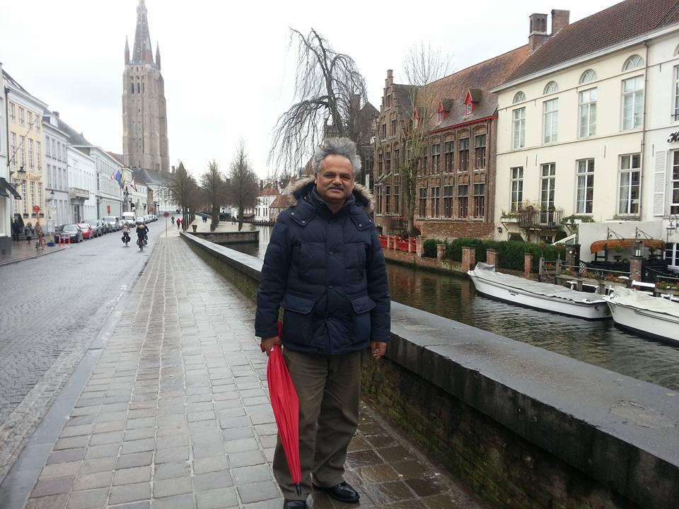 जनगायक जीवन शर्मा बेल्जियममा,बिभिन्न कार्यक्रममा सरिक हुदै