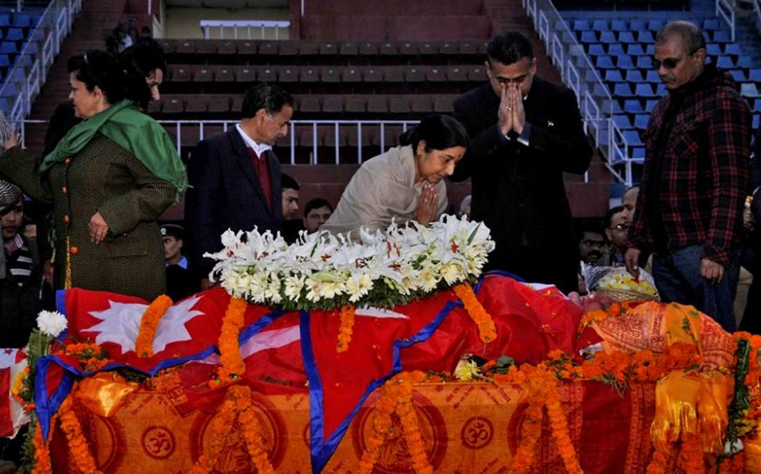 शोक मनाउनेहरुले भरियो रंगशाला -छिमेक राष्ट्रदेखि टोलबासी सम्म कोही छुटेनन्