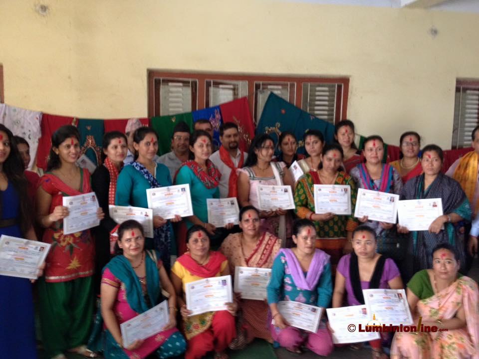 देवीनगरका २५ जना महिला भए आत्मनिभर