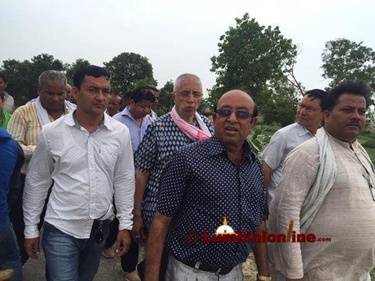 रुपन्देही क्षेत्र न ६ बाट बिभिन्न पार्टी परीत्याग गरी २८ जना  नेपाली कांग्रेसमा प्रवेश ।