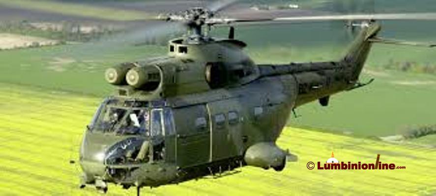 घाइतेको उद्धार गर्न हेलिकप्टर परिचालन