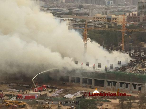 रासायनिक मलको कारखानामा चुहावट