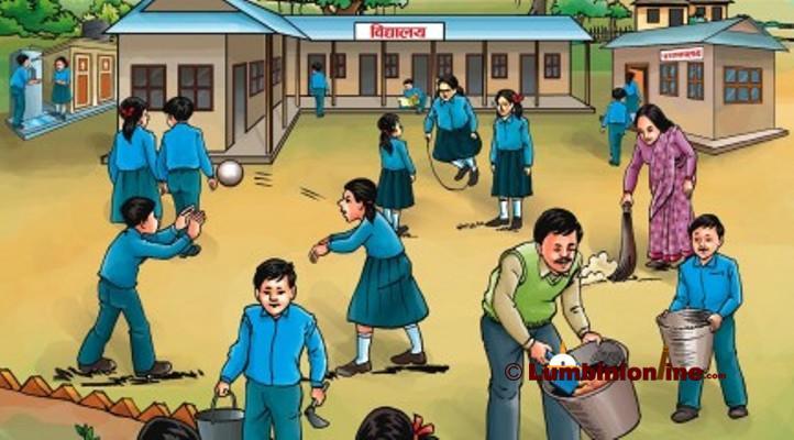 एक हजार नमुना विद्यालय बनाउने योजना