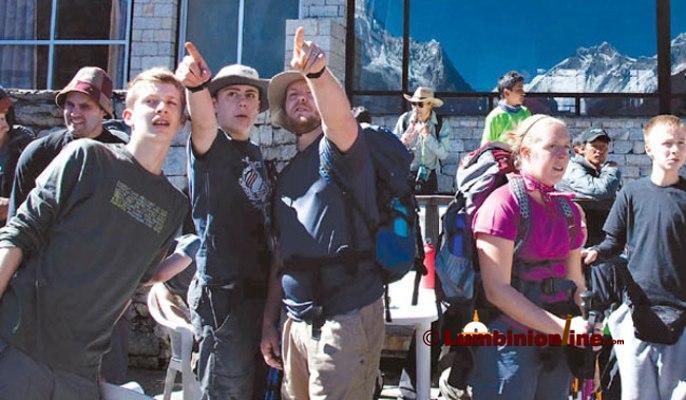 निषेधित क्षेत्रमा सत्र हजार विदेशी पर्यटक