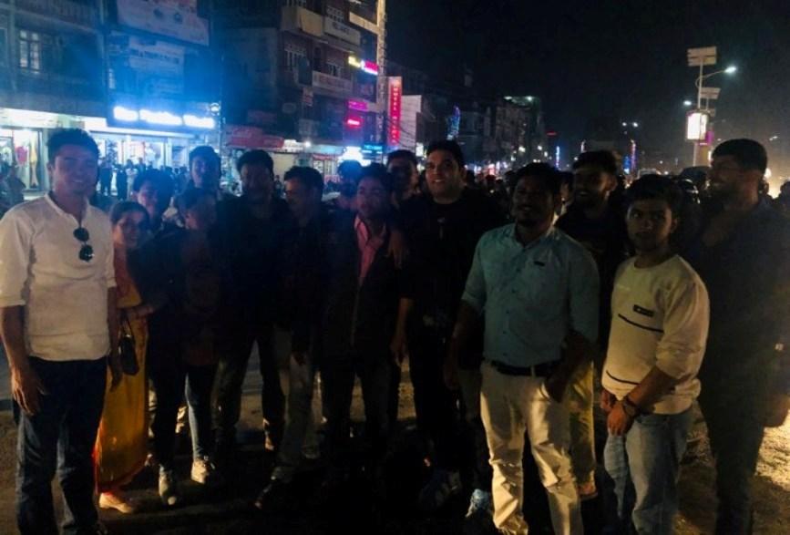 भारतद्वारा जारी नयाँ नक्साको बिरोधमा नेबिसंघद्वारा बुटवलमा मसाल जुलुस प्रदर्शन