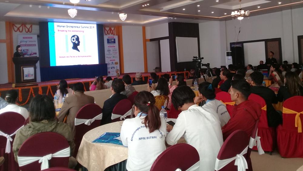 रुपन्देहीमा पहिलोपटक महिला उद्यमी सम्मेलन