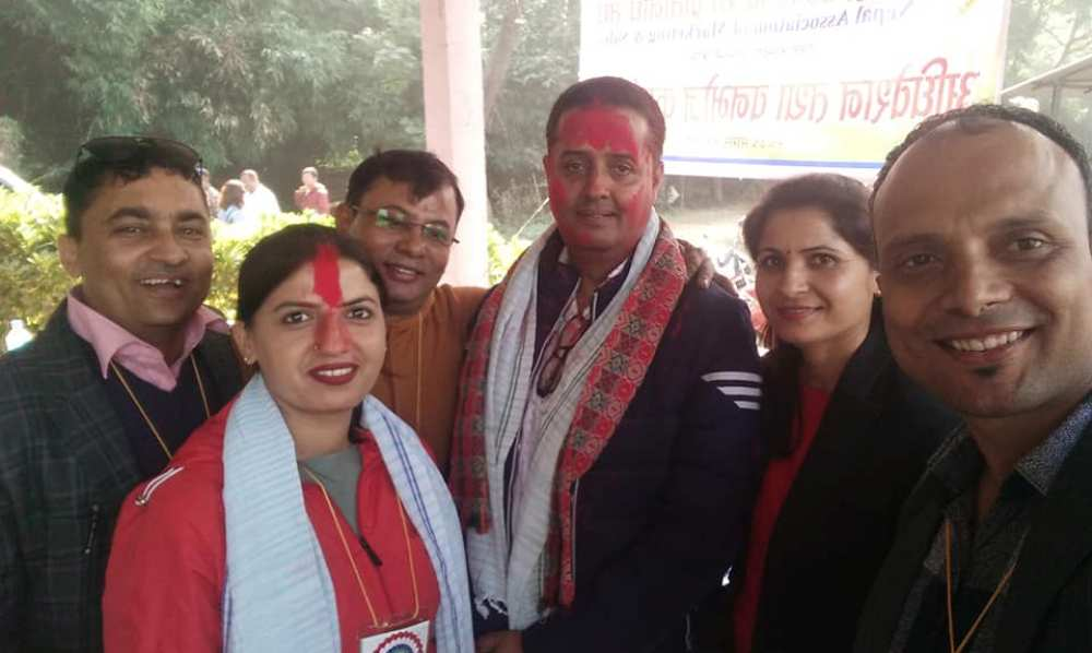 नेपाल बजार बिक्रि प्रतिनीधि संघ लुम्बिनीमा पौडेल
