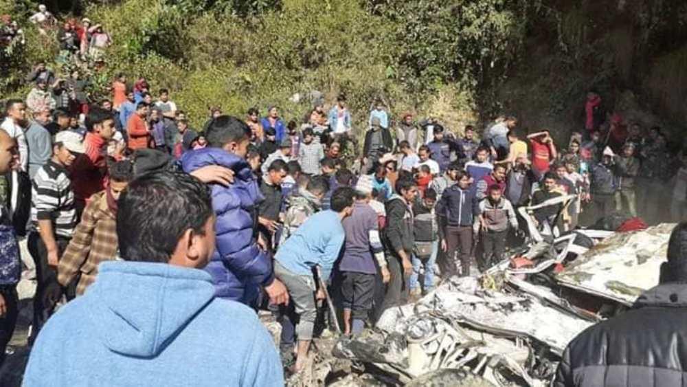 बागलुङमा जीप दुर्घटना : घटनास्थलमै १४ जनाको मृत्यु