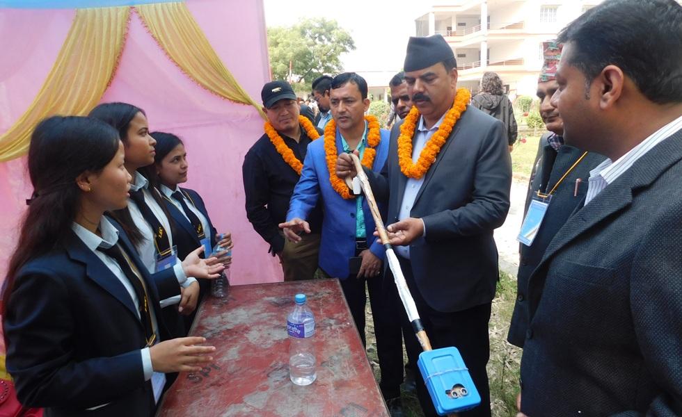 लुम्बिनी ईञ्जिनियरिङ् कलेजमा ईञ्जिनियरिङ् एक्स्पो सुरु