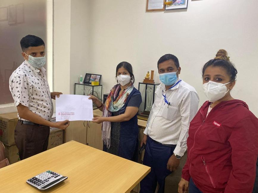 प्रेस युनियन रुपन्देहीले गर्यो आफना सदस्यहरुको कोरोना बिमा
