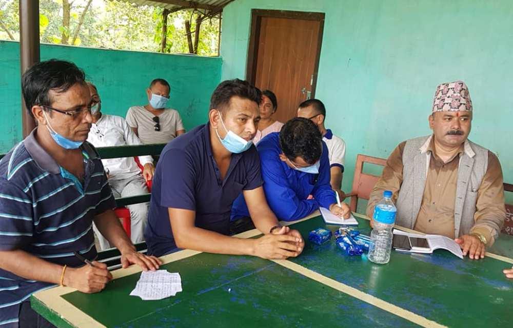 स्वास्थ्यकर्मी संघको देवदह नगर समिति गठन : व्यक्तिगत सुरक्षा र पेशागत मर्यादामा जोड