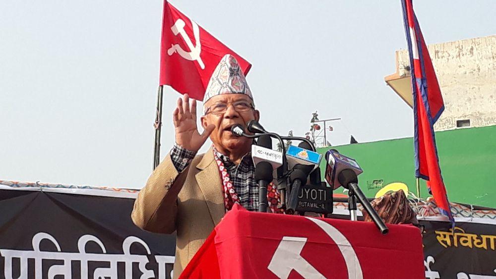 ओली ईतिहास बिकासको बाधक : अध्यक्ष नेपाल