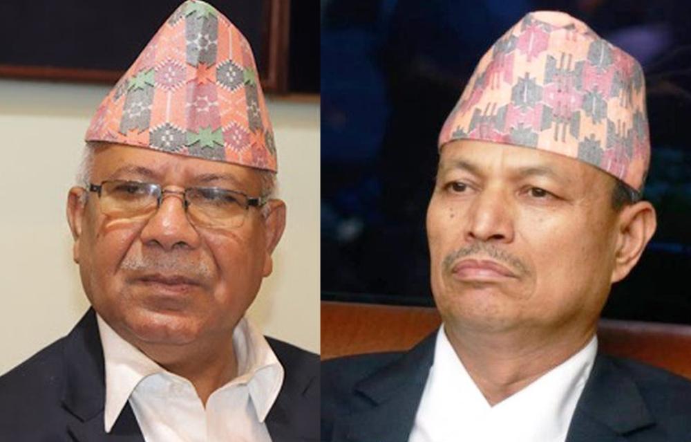 एमाले अध्यक्ष ओलीद्वारा नेताद्वय नेपाल र रावललाई सच्चिने अवसर सहित निलम्बन