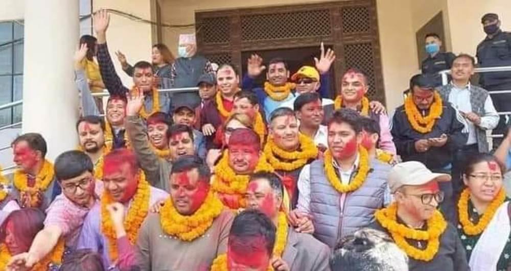नेपाल पत्रकार महासंघको अध्यक्षमा लोकतान्त्रिक प्यानलका बिपुल पोख्रेल बिजयी
